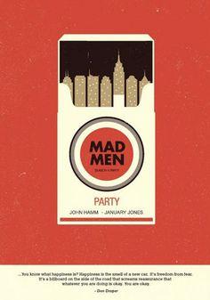 mad men party invite