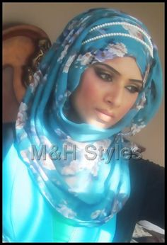 her hijab and the pearls
