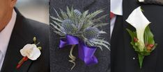 DIY Boutonniere: Look for all kinds of small wonderful things to glue inside, (like a love note) where only he will notice and smile. Have fun with this. He will love whatever you make for him.