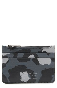 f301900e445a Main Image - MARC BY MARC JACOBS  Sophisticato - Lina  Leather Zip Card Case
