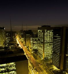 Modernity of Paulista Avenue, São Paulo, #Brazil