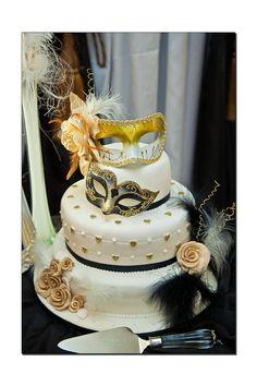 Masquerade Wedding Cake   Donegal and Sligo Wedding Photographer- Fergal Mc Grath