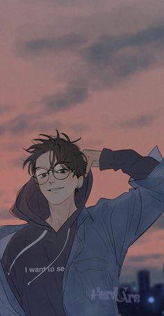 YuYang, Here U Are, DJun mahwa anime drawing Handsome Anime Guys, Cute Anime Guys, Hot Anime Boy, Anime Boy Smile, Manga Anime, Manhwa Manga, Wallpaper Animes, Animes Wallpapers, Anime Boy Zeichnung