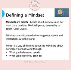 Mindset, Attitude, Improve Yourself, Personality