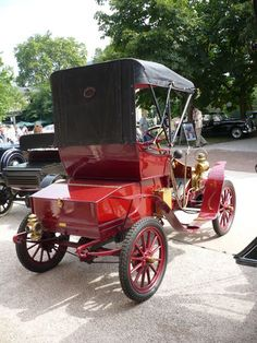 AUTOCAR type 10 Runabout 1906