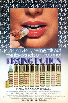 80s Home > 80s Fashion > Lip Gloss: Pucker up, Buttercup!	       	    Lip Gloss: Pucker up, Buttercup!    By Julie Anderson     	    Before we were allowed to wear actual makeup, girls of the 80s loved their flavored and tinted lip glosses. We stowed them in our purses, because periodic reapplication was a must. Those sheer colors and glossy shines didn't last for long.