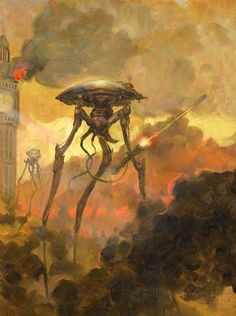 Kiddography: The War of the Worlds | Art by Tom Kidd! (FINALLY, some wonderful soul has pinned  work by Tom Kidd ! ....h.white