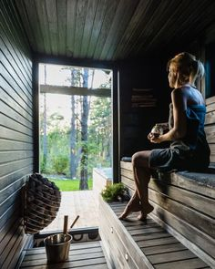 Sauna Ideas, Saunas, Jacuzzi, Sheds, Massage, Spa, Relax, Cottage, Cabin