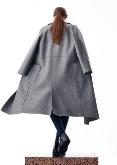 Boulezar Fall |Winter 2016 collection. No. 8. Inspired by Bauhaus.  Made in Germany. Coat: Steamy Windows