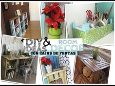 10 IDEAS PARA DECORAR CON CAJAS DE FRUTAS || DECORA CON LIDIA - YouTube