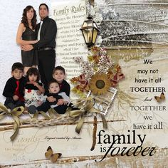 kit: Family Ancestry by Scrapbokingdom Page by Atusia