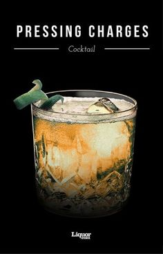 The mixture of Bourbon, soda water and Ginger ale gives a cocktail that will get you out of any sticky situation!