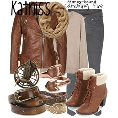 """""""Katniss Everdeen"""" by disney-bound on Polyvore"""