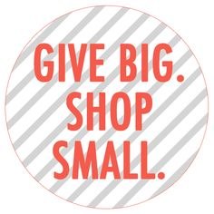 GIVING THANKS + SHOPPING SMALL | coco+kelley