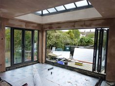 Garden room extension Or - gardenroom Orangery Extension Kitchen, Orangerie Extension, Kitchen Orangery, Extension Veranda, Conservatory Extension, House Extension Plans, House Extension Design, House Design, Building An Extension