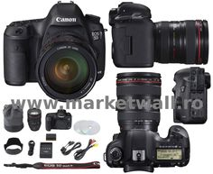 Canon EOS 5D Mark III kit EF 24-105mm F4 L IS - full frame, 22Mpx, ecran 3.2 inci