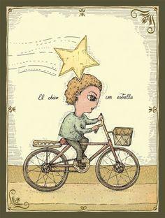 """""""El chico con estrella"""". Fito Espinoza."""