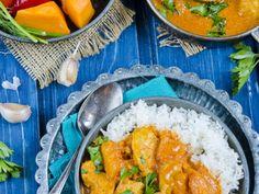 Spicy Pumpkin and Chicken Curry