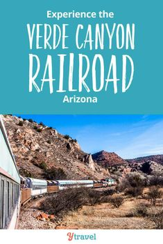 Love train journeys? The Verde Canyon Railroad near Sedona is one of the top things to do in Arizona attractions. See inside for tips and what the experience is like! #Arizona #Sedona #travel #traveltips #train #railway #railroad