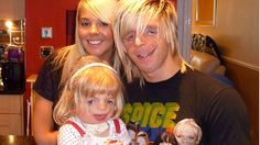 Laura Richards and Jono Lancaster meet Maisie, who also has Treacher Collins syndrome.