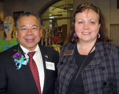 Rep. Donald Wong and Commissioner Mary Rose Quinn   Flickr - Photo Sharing!