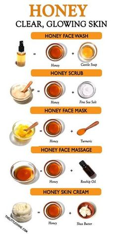 Beauty Tips With Honey, Beauty Tips For Glowing Skin, Clear Skin Tips, Clear Skin Face Mask, Glow Skin Mask, Face Mask Skin Care, Glowing Face, Face Care, Skin Care Routine Steps