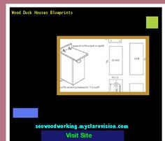 Wood Duck Houses Blueprints 175951 - Woodworking Plans and Projects!
