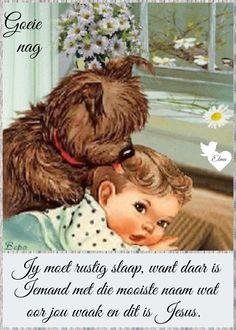 Evening Greetings, Goeie Nag, Goeie More, Afrikaans Quotes, Morning Inspirational Quotes, Good Night Wishes, Special Quotes, Teddy Bear, Animals