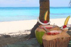 Cocoloco en San Andrés, hermosa isla del Caribe Colombiano. #HosteriaMarySol Colombia Travel, Coconut, Bella, Colonial, Places, St Andrews, Exotic Places, Cartagena, Islands