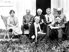 Ndustrial Giants Henry Ford Thomas Edison And Harvey Firestone