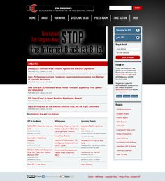 Electronic Frontier Foundation: SOPA BLACKOUT