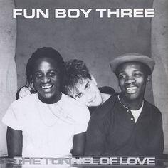 Fun Boy Three The Tunnel Of Love UK vinyl single inch record) Gorillaz, Coventry, Fun Boy Three, Terry Hall, Tunnel Of Love, 80s Pop, Rude Boy, Vintage Vinyl Records, Northern Soul