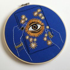 Embroidery Hoops by Thread Honey on Etsy More like this