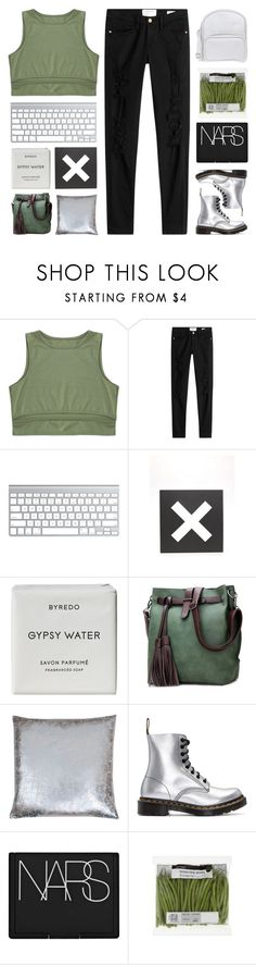"""""""&   happy birthday kelsey"""" by lavender-and-mint ❤ liked on Polyvore featuring Frame, Urban Outfitters, Byredo, Dr. Martens, NARS Cosmetics and Jil Sander Navy"""