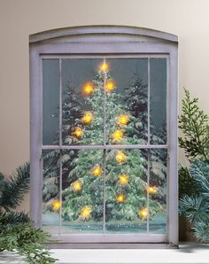 51 Best Lighted Canvas Art Images Diy Christmas Decorations
