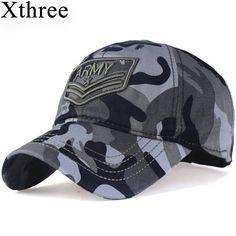 Encontrar Más Gorras de béisbol Información acerca de Xthree camuflaje gorra  de béisbol carta ejército snapback 49055934868