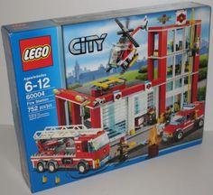 Lego City Fire Station set 60004.