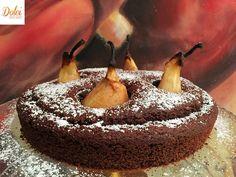 Torta Cioccolato e Pere al Moscato Senza Burro