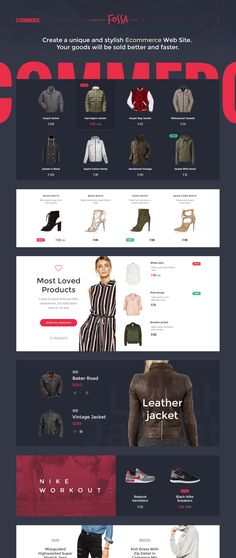 Create a unique & stylish Ecommerce website with Fossa Ecommerce UI Kit. Fossa includes 12 Page Samples & 8 Categories jam packed with over 250+ UI Elements, this kit is just what you need to being crafting your next trendy shopping site. Fossa was designed in Photoshop for Photoshop.