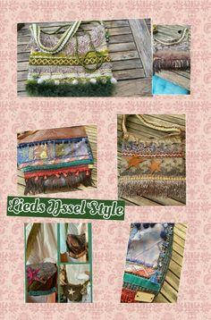 Handmade tassen by Lieds IJssel Style