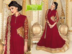Pakistani Salwar Suit Dress Indian Ethnic Anarkali Bollywood Designer Kameez…