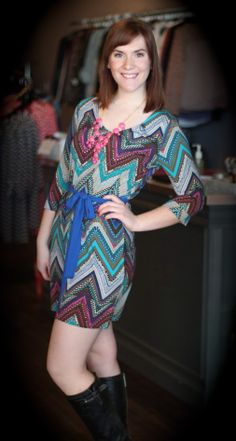"""Beat of my Heart"" dress - $45 To order, call 317-889-1150 or email jen@jendaisy.com!"