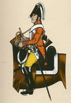 Caballería de Línea Montesa 1808 Trompeta