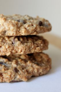 oatmeal chocolate chip cookies <3