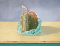 Spanish Pumpkin  2009  Oil on canvas 32 x 46 in Private Collection