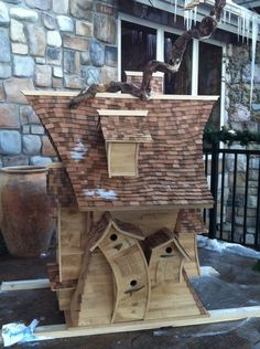 Unusual Birdhouses Part 1