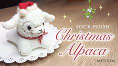 DIY Baby Alpaca Sock Plush Tutorial