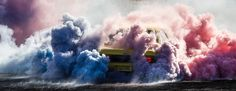 simon davidson uncovers the overlooked artistry of high-horsepower burnouts