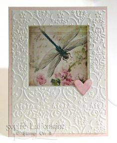Dragonfly Square Acetate by SophieLaFontaine - Cards and Paper Crafts at Splitcoaststampers