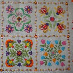 aunt millie's garden quilt - Google Search